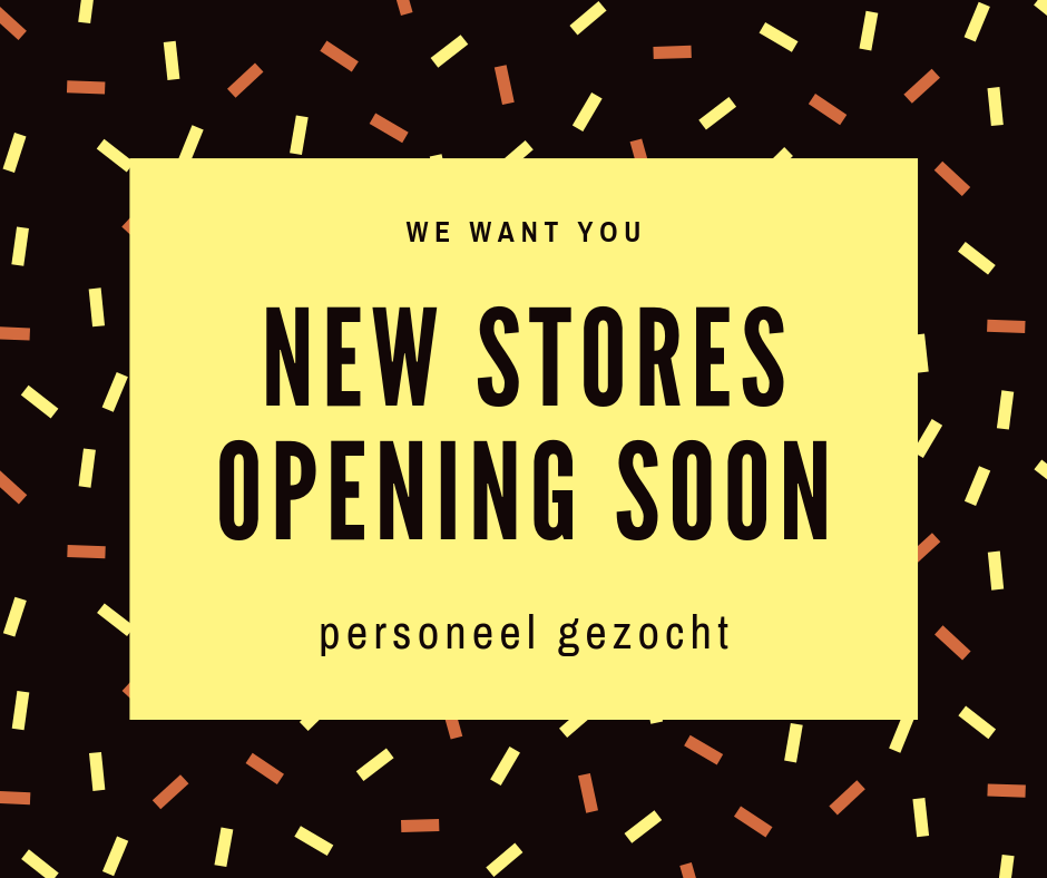 New stores opening